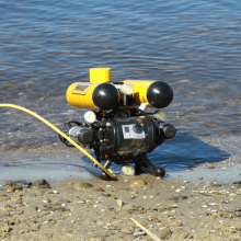 Underwater GPS on a Remotely Operated Vehicle: Experience and Expertise